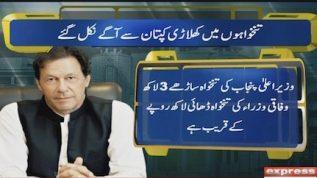 PM Imran's salary less than ministers' salaries