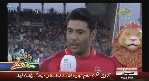 Karachi Kings wins the toss, decides to bat first
