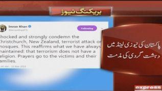 Pakistan condemns the New Zealand terrorist attack