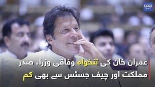 What's the pay of Prime Minister Imran Khan?