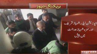 Case hearings against Shehbaz and Hamza Sharif postpones