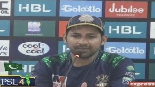 """The win is a result of hard work,"" Sarfaraz Ahmed"