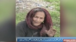 PM Khan personally calls old woman begging for shelter