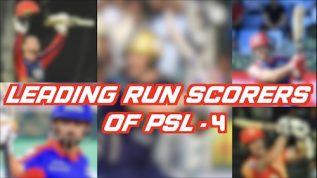 Highest scorers of Pakistan Super League 4