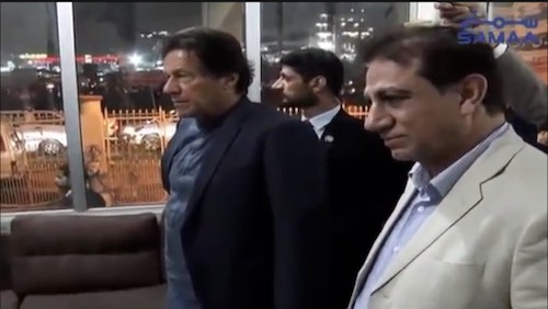 PM Imran visits shelter home