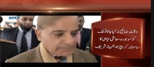 Government wasted time leading to economic crisis: Shehbaz Sharif