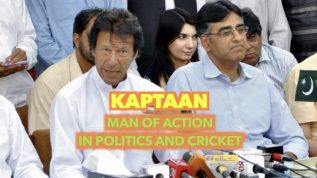 Kaptaan – man of action in politics and cricket