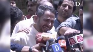Nishwa's Father Grieves For His Daughter
