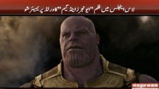 Avengers Endgame had it's world premier