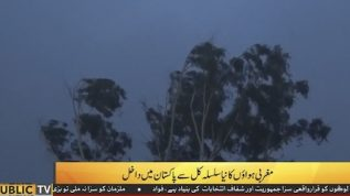 New system of rain enters Pakistan
