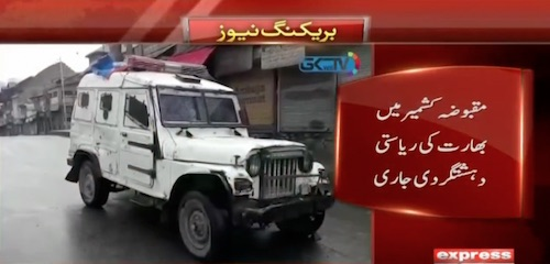 Indian forces firing in occupied Kashmir, 2 people dead