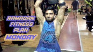Ramzan fitness plan: Monday workout