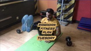 Ramzan fitness plan: Tuesday workout