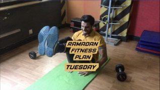 Ramzan fitness plan: Tuesday workout