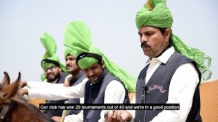 Tent pegging tournament takes place in Lahore