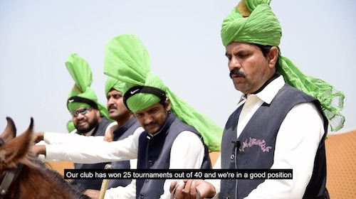 Polo players gather in Lahore for a tournament