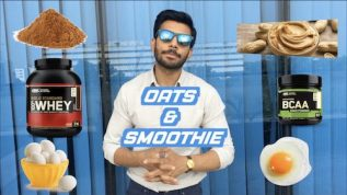 Ramzan fitness plan: Oats Smoothie