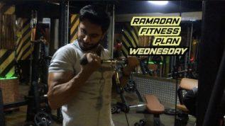Ramzan fitness plan: Wednesday workout