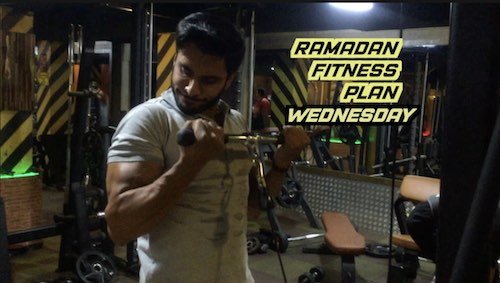 Ramzan fitness plan: Wednesday workout