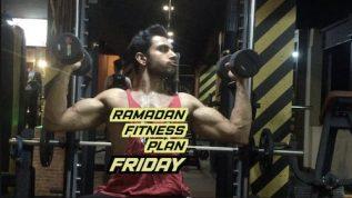 Ramzan fitness plan: Friday legs & shoulders workout