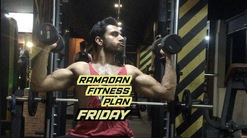 Ramzan fitness plan: Friday legs & shoulders workout