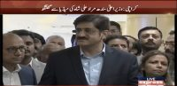 Murad Ali Shah addresses media