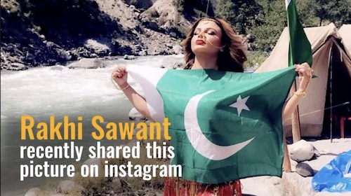 Rakhi Sawant has a message for Pakistani fans