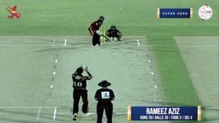 Match 8 – Super Hero – Rameez Aziz