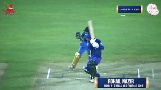 Match 9 – Super Hero – Rohail Nazir