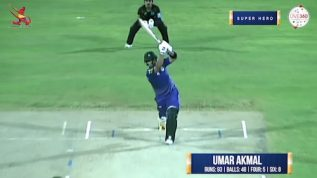 Match 10 – Super Hero – Umar Akmal