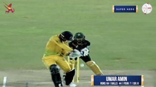 Match 12 – Super Hero – Umar Amin