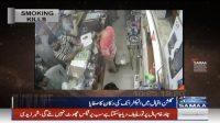 Theives steal in Bahadurabad and Gulshan-e-Iqbal