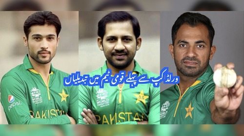 Changes made: World Cup 2019 Pakistani squad finalised