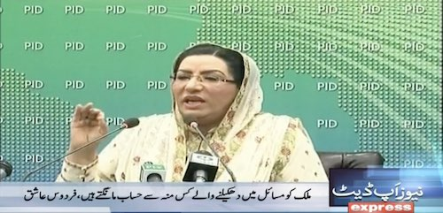 Firdous Criticises Maryam Nawaz Again