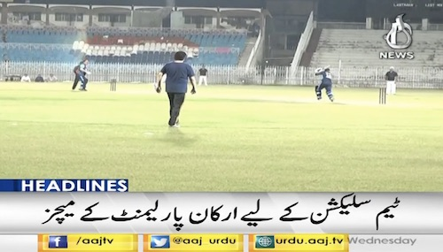 Pakistan To Parliamentarians Cricket World Cup
