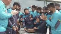 Sarfaraz Ahmed celebrates his birthday!