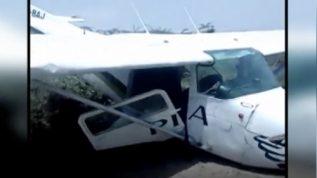 Emergency landing of PIA plane