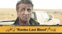 The First Trailer Of Rambo: Last Blood