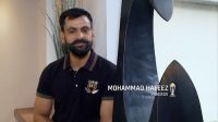 Hafeez and his moustache – how does he do it?