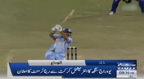 Yuvraj retires from international cricket