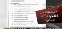 Asif Zardari owns upto 23 properties