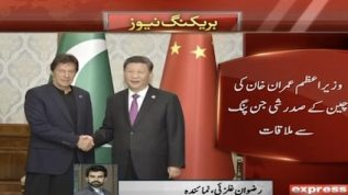 PM Imran meets Chinese President at SCO