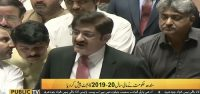 CM presents Rs1217 bn Sindh budget for FY 2019-20