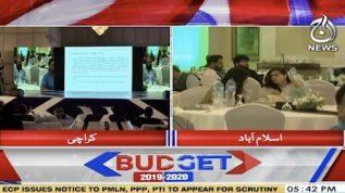 Post budget seminars in Karachi, Islamabad