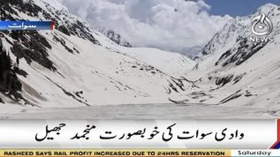 Frozen Kandole lake of Sawat