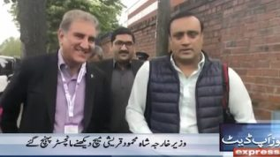 Foreign Minister in England for Pak v Ind match