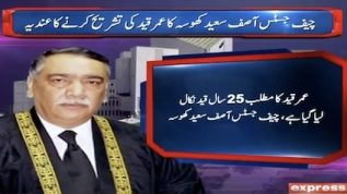 Life imprisonment means jail for 25 years: CJ