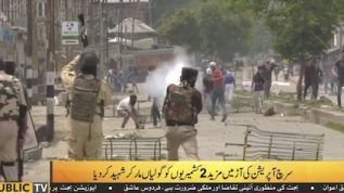 Two Shaheed as Indian violence continues