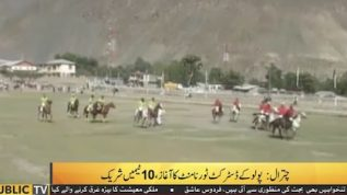 Polo tournament in Chitral