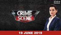 Crime Scene of a murder case in Lahore